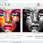 jpeg image adjustments greyscale